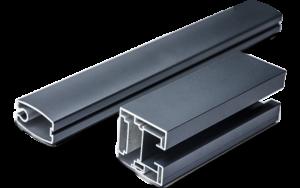 Perfil aluminio mosquitera automática
