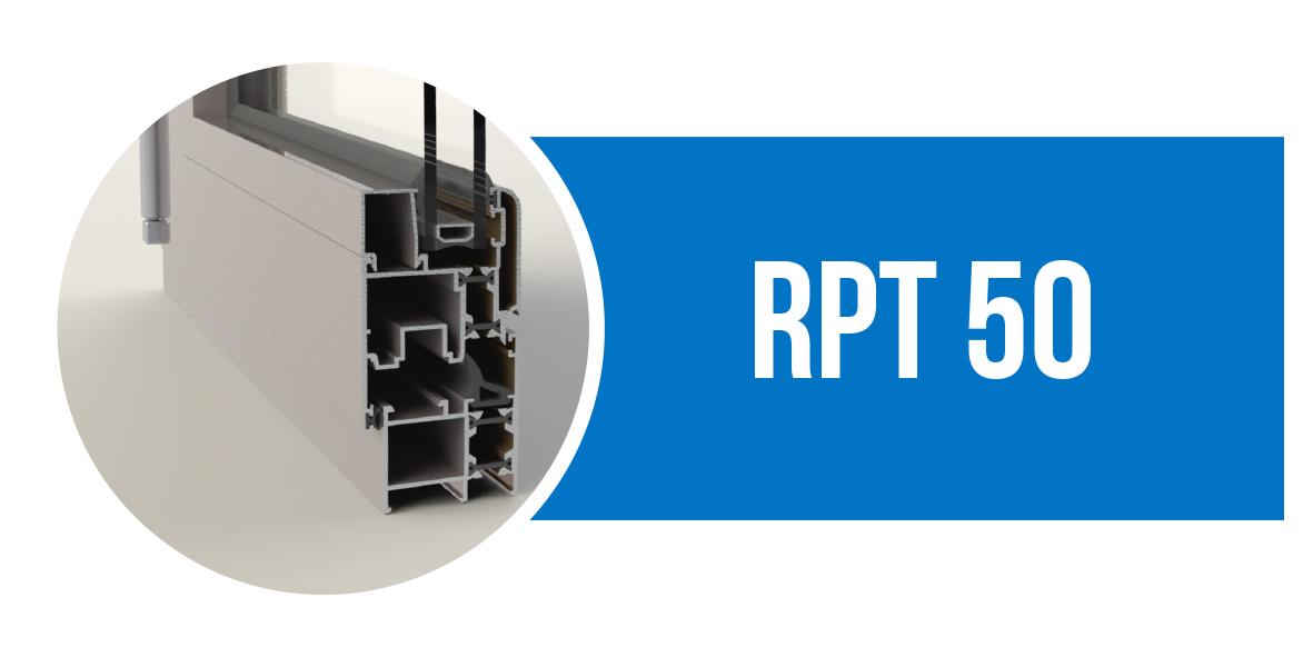 Canal 16 serie RPT 50, perfil de aluminio