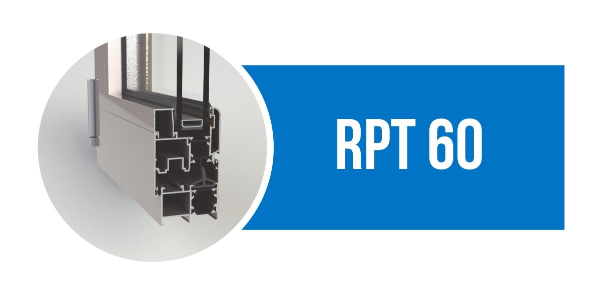 Canal 16 serie RPT 60, perfil de aluminio