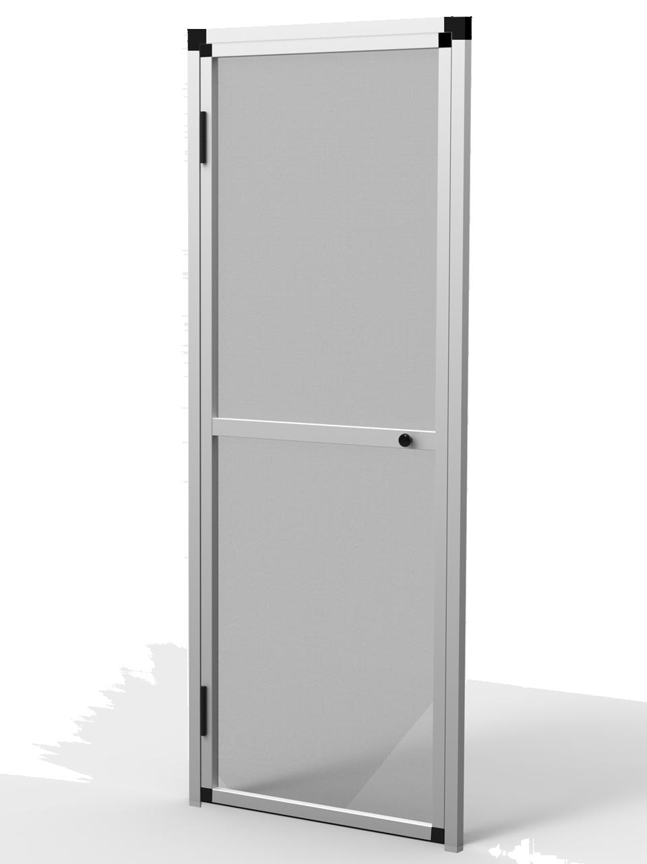 Mosquitera puerta abatible