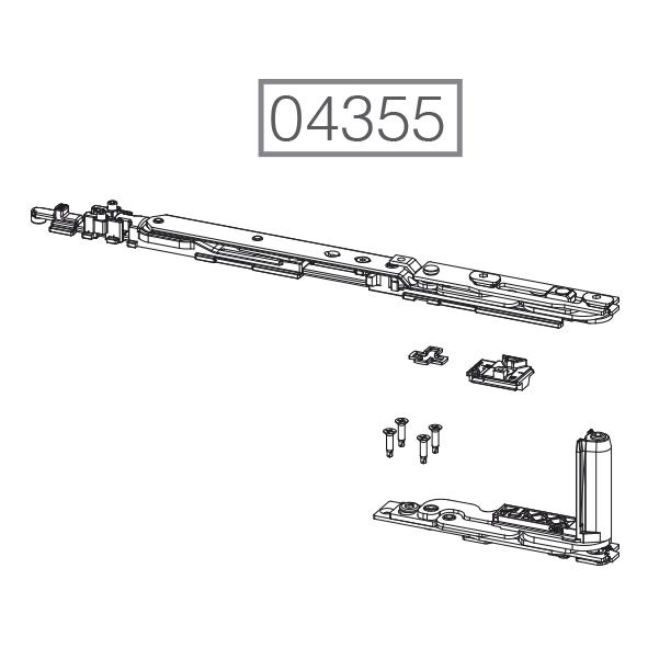 GIESSE accesorios minimalistas ventanas aluminio